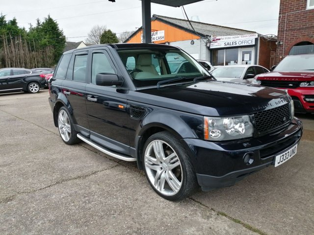 USED 2006 56 LAND ROVER RANGE ROVER SPORT 2.7 TDV6 HSE 5d 188 BHP