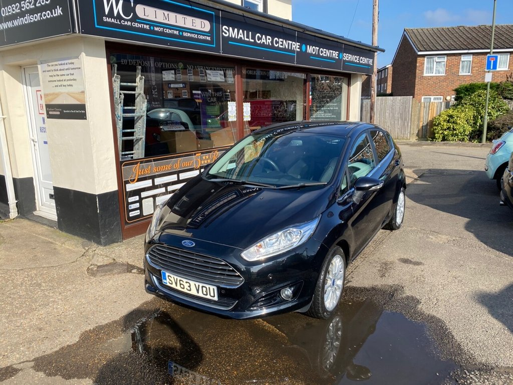 USED 2013 63 FORD FIESTA 1.0 TITANIUM X 5d 124 BHP REAR CAMERA - BLUETOOTH - USB - DAB - HEATED FRONT SEATS - CRUISE CONTROL