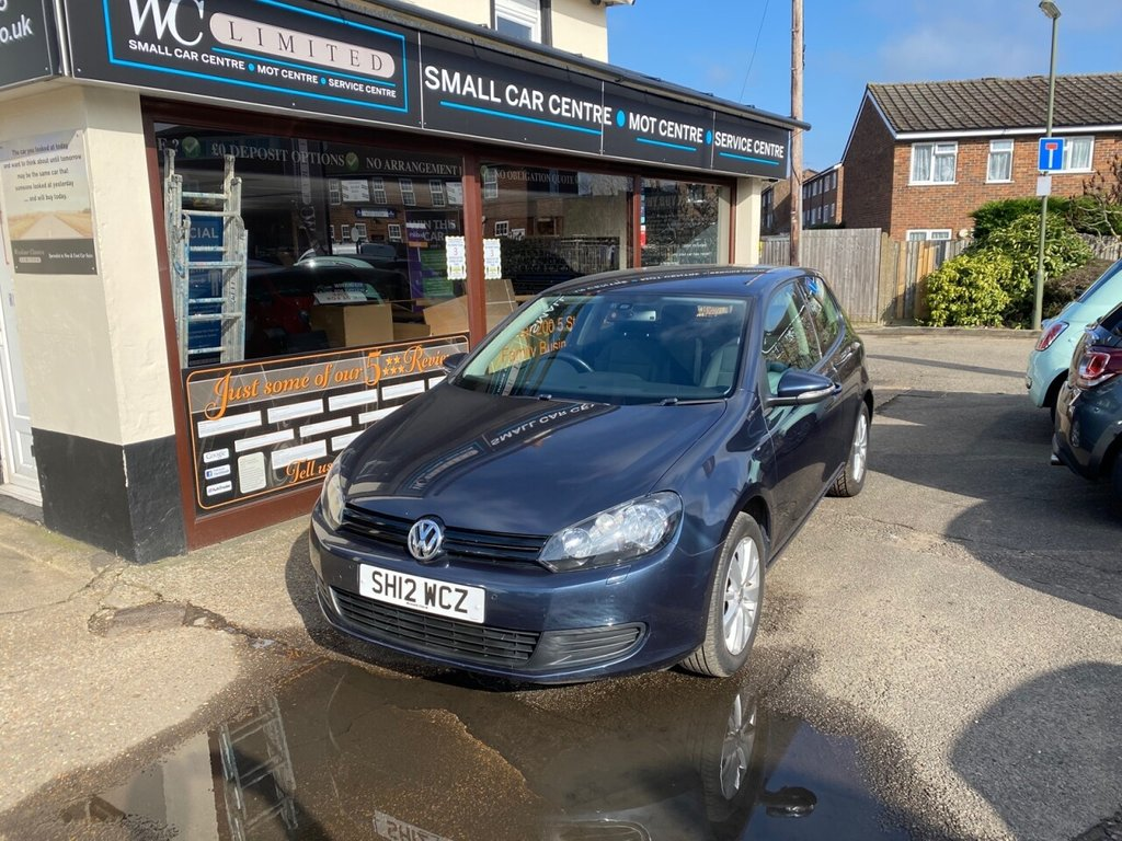 USED 2012 12 VOLKSWAGEN GOLF 1.4 MATCH TSI 3d 121 BHP BLUETOOTH - FRONT & REAR PARKING SENSORS - AIRCON - HEATED FRONT SEATS