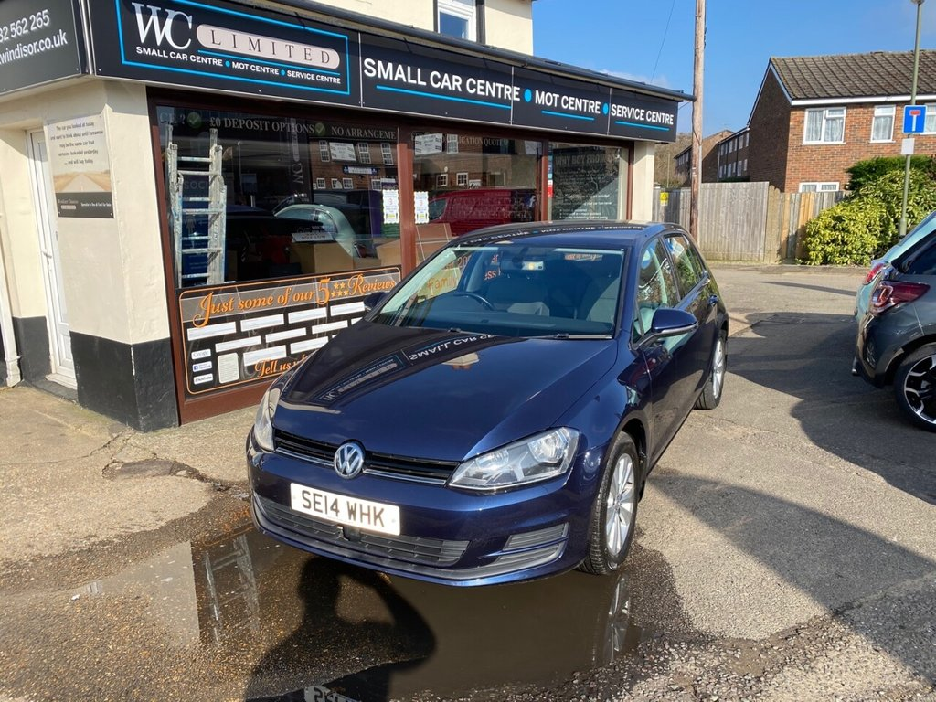 USED 2014 14 VOLKSWAGEN GOLF 1.4 SE TSI BLUEMOTION TECHNOLOGY 5d 120 BHP BLUETOOTH - DAB - USB - CRUISE CONTROL - AUTO LIGHTS - AIRCON