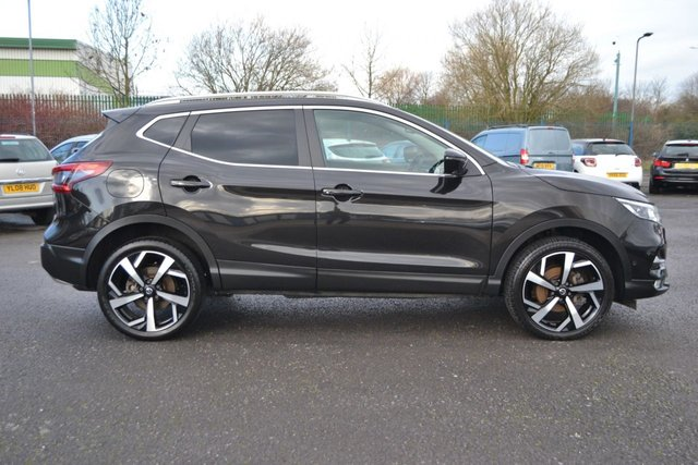 USED 2018 68 NISSAN QASHQAI 1.5 DCI TEKNA 5d 114 BHP ~ 360 CAMERA ~ PAN ROOF 360 CAMERA ~ PAN ROOF ~ SAT NAV ~ HEATED LEATHER
