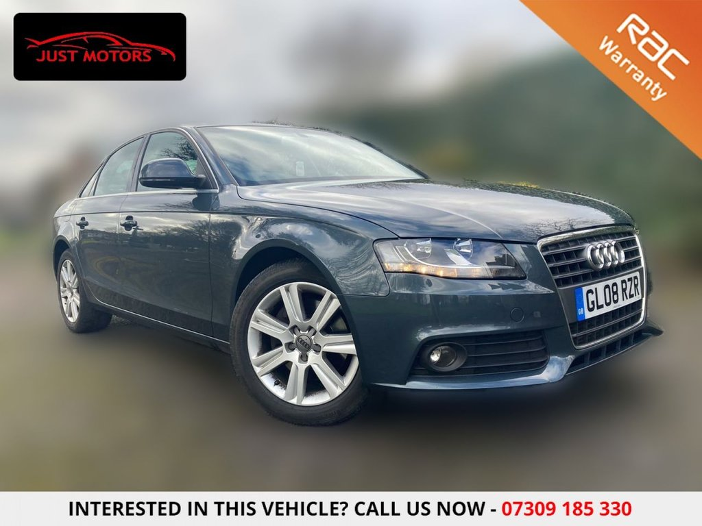 USED 2008 08 AUDI A4 2.7 TDI SE  4d 187 BHP AUTO + WELL LOOKED AFTER