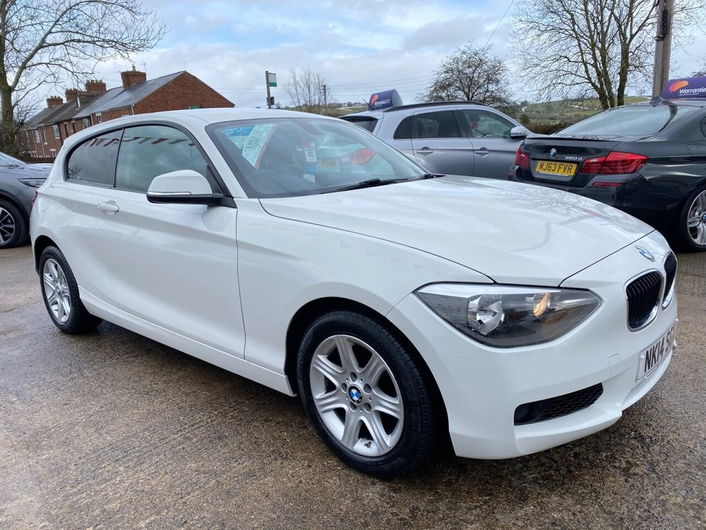 USED 2014 14 BMW 1 SERIES 1.6 114D ES 3d 94 BHP * JUST ARRIVED * LOW INSURANCE * EXCELLENT VALUE *