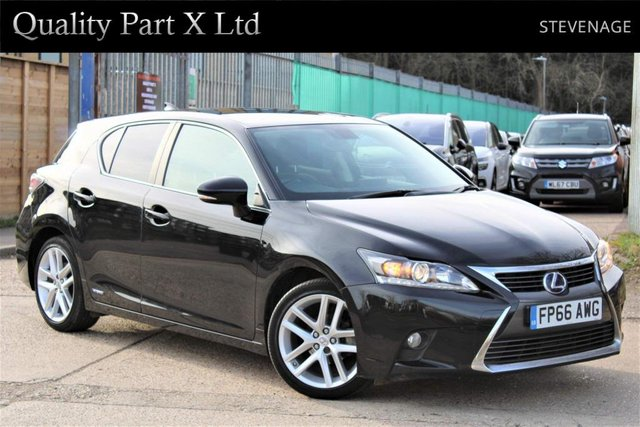 USED 2016 66 LEXUS CT 1.8 200h Luxury CVT (s/s) 5dr BLUETOOTH,CAMERA,SENSOR,HEATED
