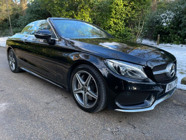 USED 2017 17 MERCEDES-BENZ C-CLASS 2.0 C 300 AMG LINE 2d 241 BHP