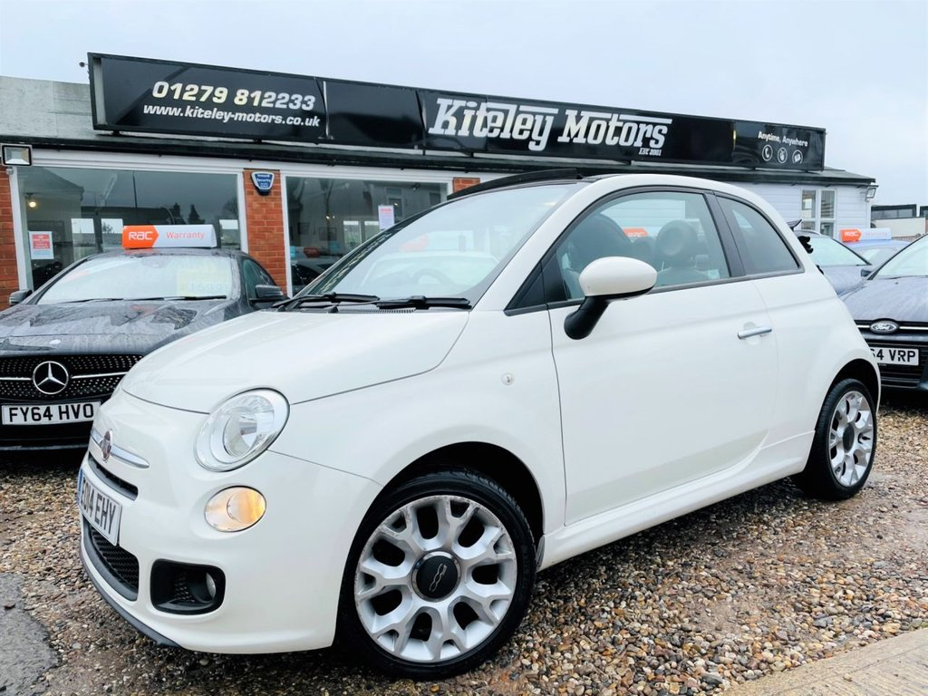 USED 2014 14 FIAT 500C 0.9 TWINAIR S CONVERTIBLE