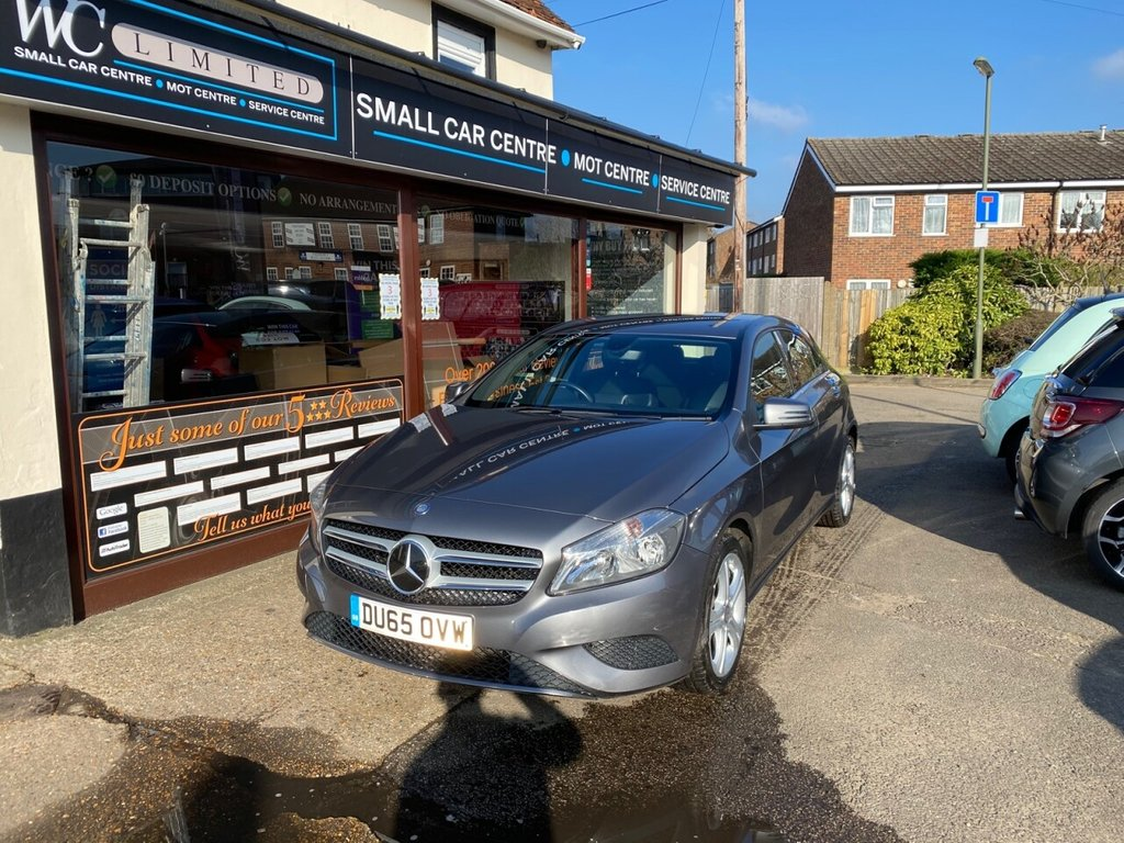 USED 2015 14 MERCEDES-BENZ A-CLASS 1.5 A180 CDI SPORT EDITION 5d 107 BHP FULL LEATHER - BLUETOOTH - USB - DAB - CRUSIE CONTROL