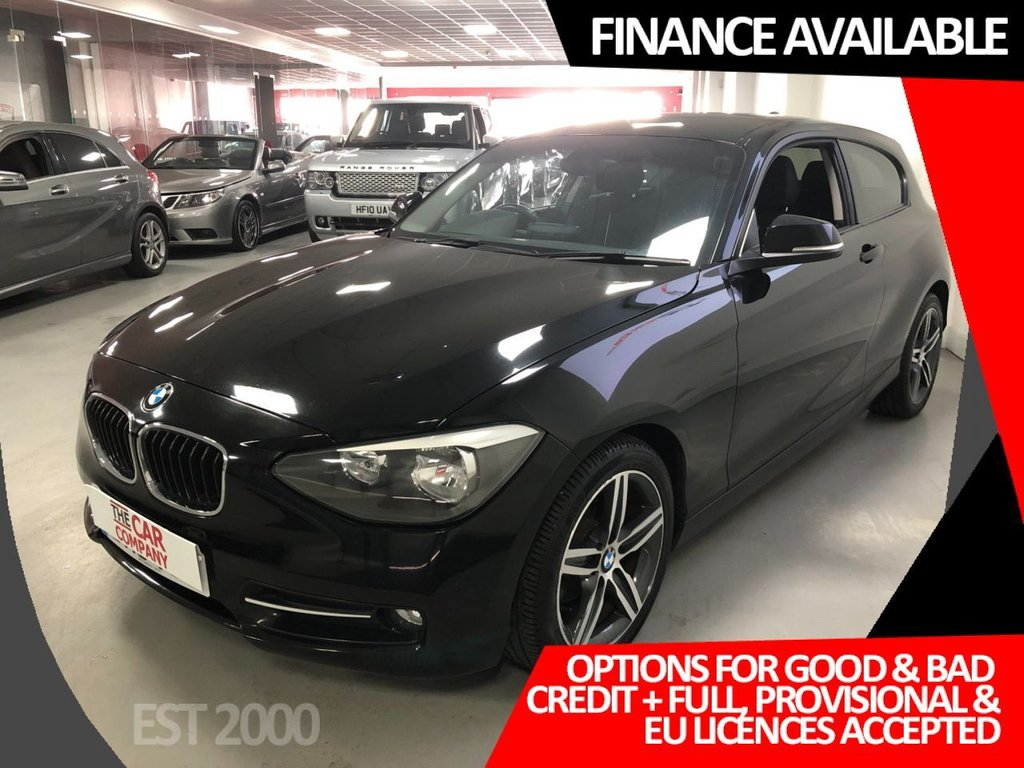 USED 2013 13 BMW 1 SERIES 2.0 116D SPORT 3d 114 BHP * 17 INCH ALLOYS * AIR CON * MOT JULY *