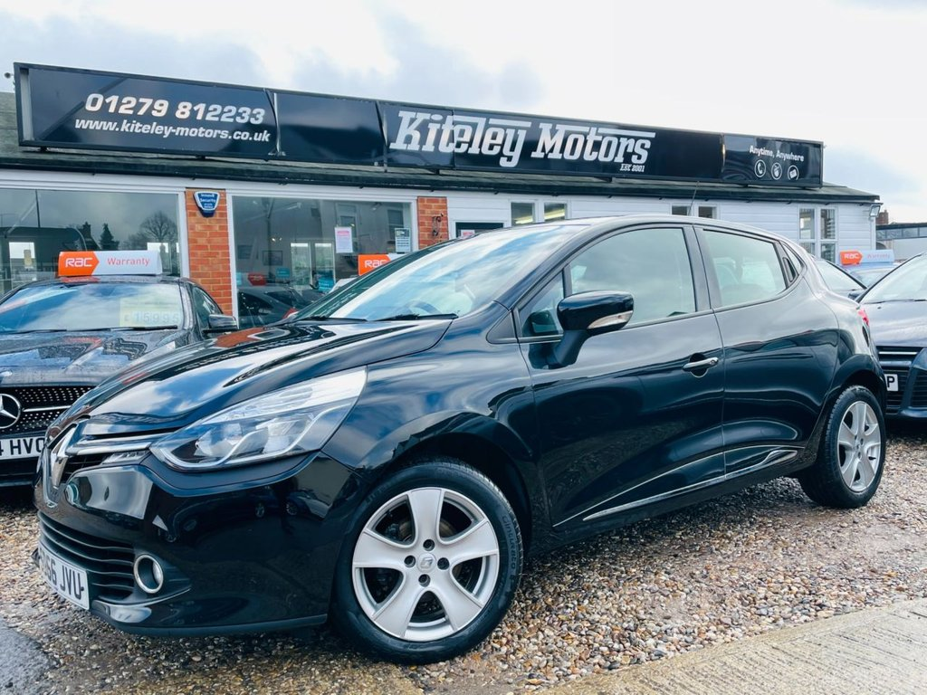 USED 2016 66 RENAULT CLIO 1.1 DYNAMIQUE NAV 16V 5d 73 BHP