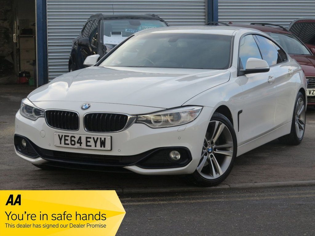USED 2014 64 BMW 4 SERIES 2.0 420D SPORT GRAN COUPE 4d 181 BHP AUTOMATIC