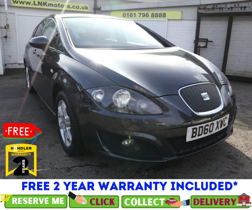 USED 2010 60 SEAT LEON 1.6 CR TDI ECOMOTIVE SE 5d 103 BHP *CLICK & COLLECT OR DELIVERY