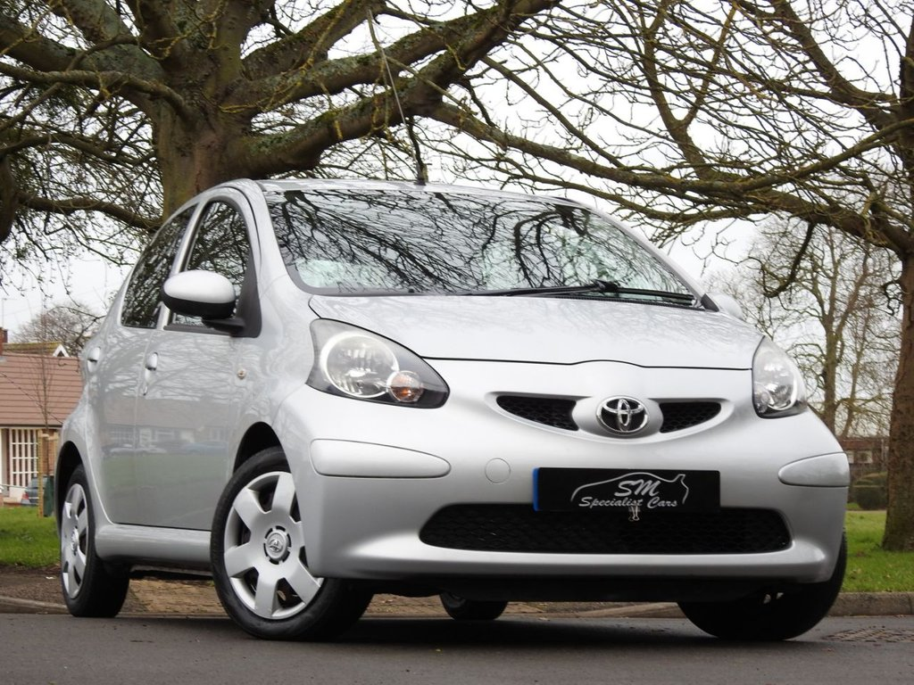 USED 2008 57 TOYOTA AYGO 1.0 VVT-I PLUS 5d 67 BHP ONLY 15K FROM NEW A/C VGC