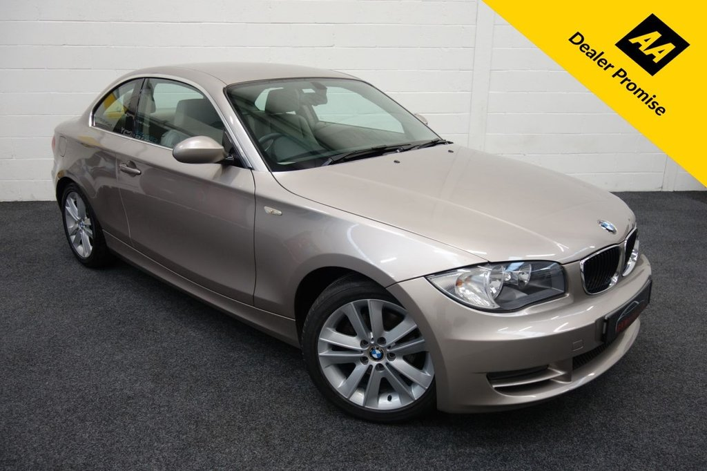 USED 2008 W BMW 1 SERIES 2.0 120D SE 2d 175 BHP