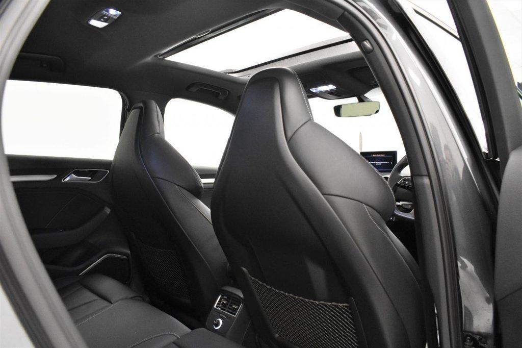 USED 2019 19 AUDI S3 2.0 TFSI SPORTBACK QUATTRO BLACK EDITION 5 DOOR