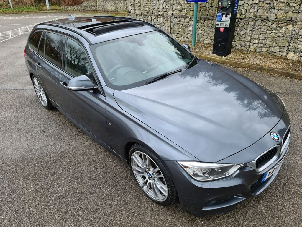 USED 2014 63 BMW 3 SERIES 2.0 320D M SPORT TOURING 5d 181 BHP Free Next Day Nationwide Delivery