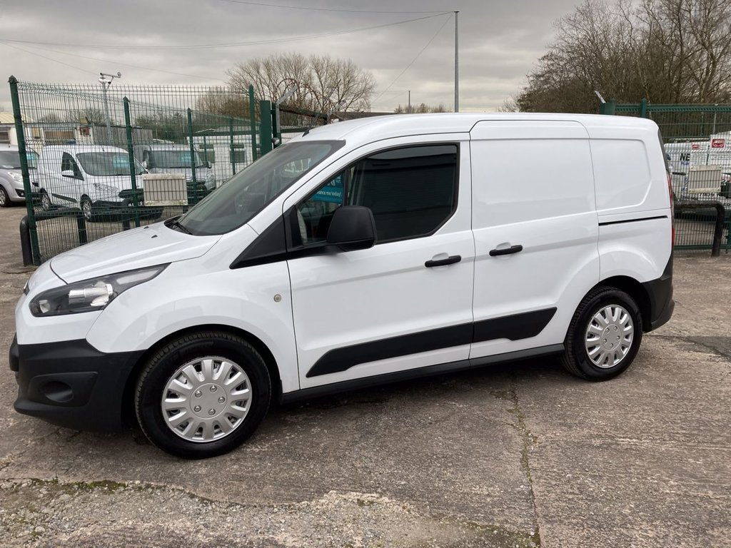 USED 2015 65 FORD TRANSIT CONNECT 1.6 220 DCB 94 BHP 1 OWNER FSH NEW MOT 5 SEATER CREW VAN FREE 6 MONTH WARRANTY INCLUDING RECOVERY AND ASSIST NEW MOT 5 SEAT CREW VAN