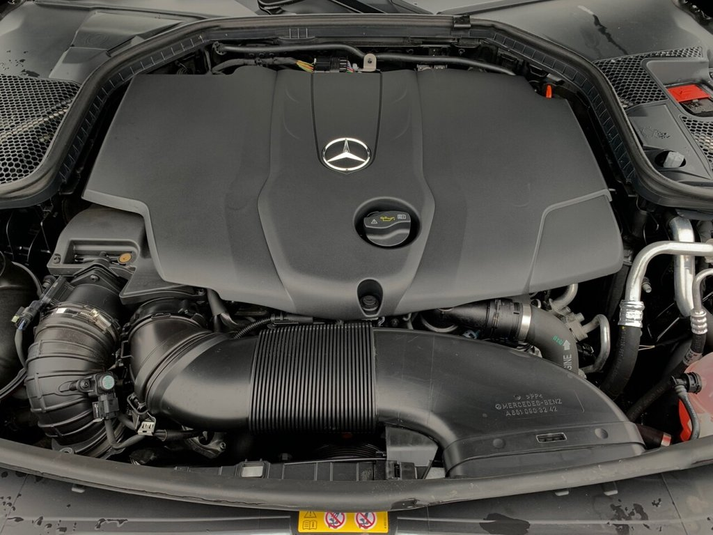 USED 2018 18 MERCEDES-BENZ C-CLASS 2.1 C 220 D SPORT PREMIUM 4d 170 BHP