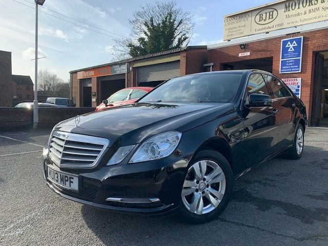 USED 2013 13 MERCEDES-BENZ E-CLASS 2.1 E220 CDI BLUEEFFICIENCY S/S SE 4d 170 BHP