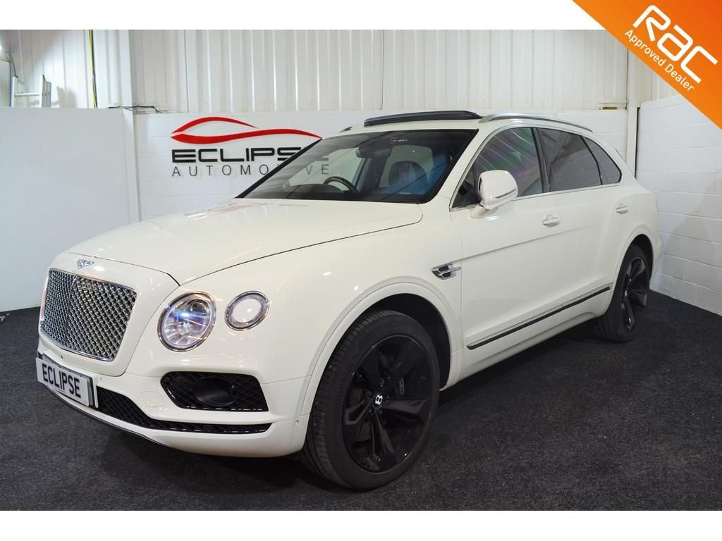 USED 2016 16 BENTLEY BENTAYGA 6.0 W12 5d AUTO 600 BHP