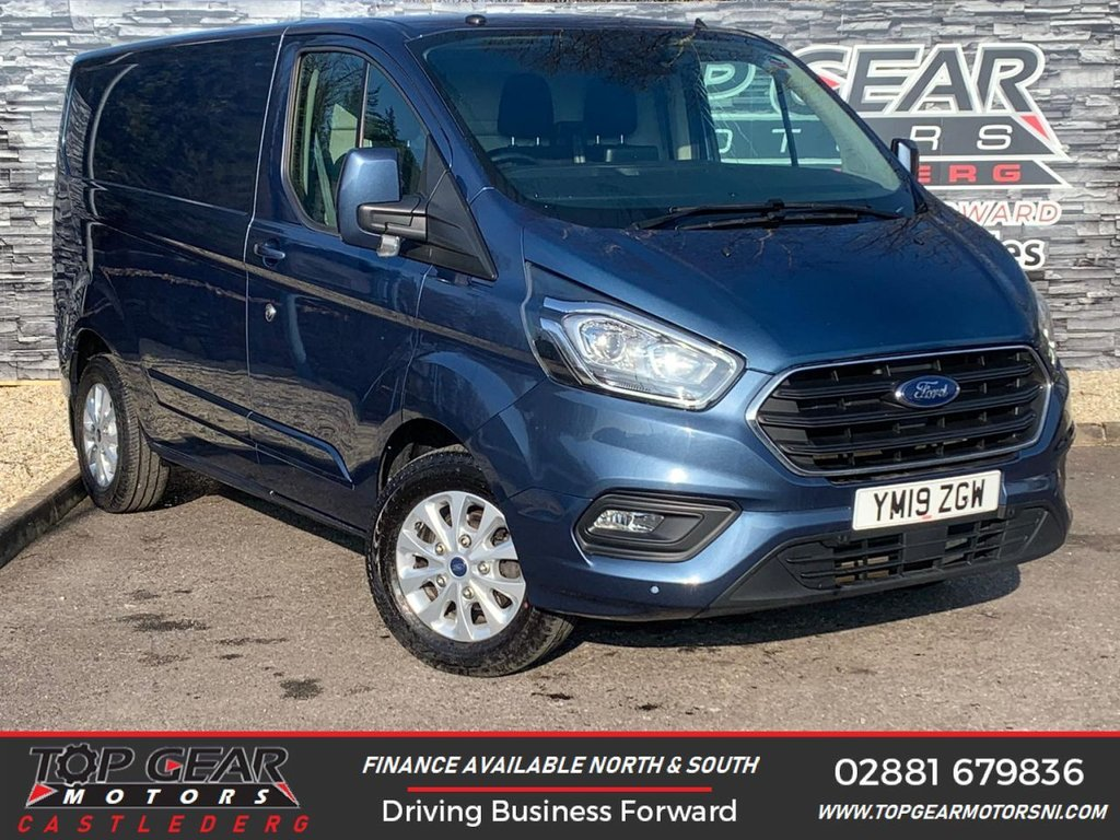 USED 2019 19 FORD TRANSIT CUSTOM 300 2.0 130BHP LIMITED L1 H1  ** A/C, HEATED SEATS, CRUISE CONTROL ** OVER 90 VANS IN STOCK