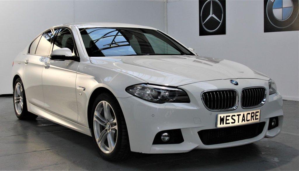 USED 2015 64 BMW 5 SERIES 2.0 520D M SPORT 4d 188 BHP