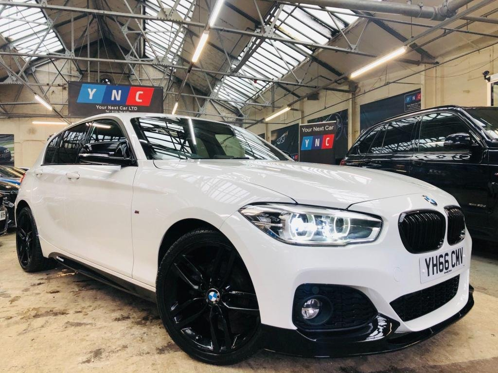USED 2016 66 BMW 1 SERIES 2.0 118d M Sport (s/s) 5dr PERFORMANCE KIT REAR SPOILER!