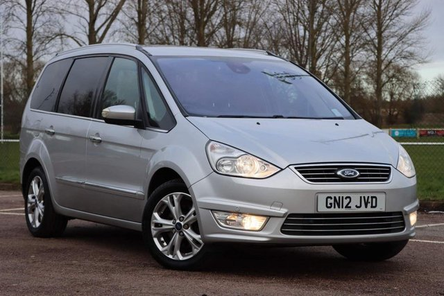 USED 2012 12 FORD GALAXY 2.0 TDCi Titanium 5dr Full Service with 9 Stamps