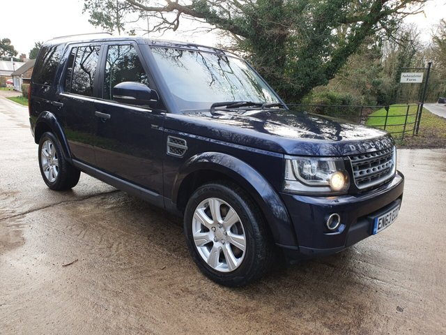 2014 63 LAND ROVER DISCOVERY 3.0 SDV6 XS 5d 255 BHP
