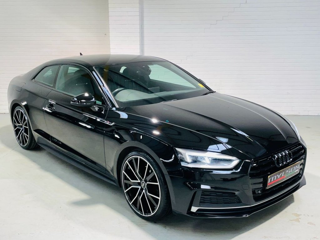USED 2017 17 AUDI A5 2.0 TFSI S LINE 2d 188 BHP S-Line Spec with 20in RS Style Wheels, Sat Nav, Heated Leather Seats