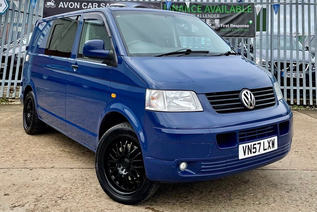 USED 2008 57 VOLKSWAGEN TRANSPORTER 2.5L T30 CAMPER SWB PBV TDI 0d 129 BHP - CONVERTED!! SIDE WINDOWS! SINK/HOB!!! ELECTRIC HOOK UP!