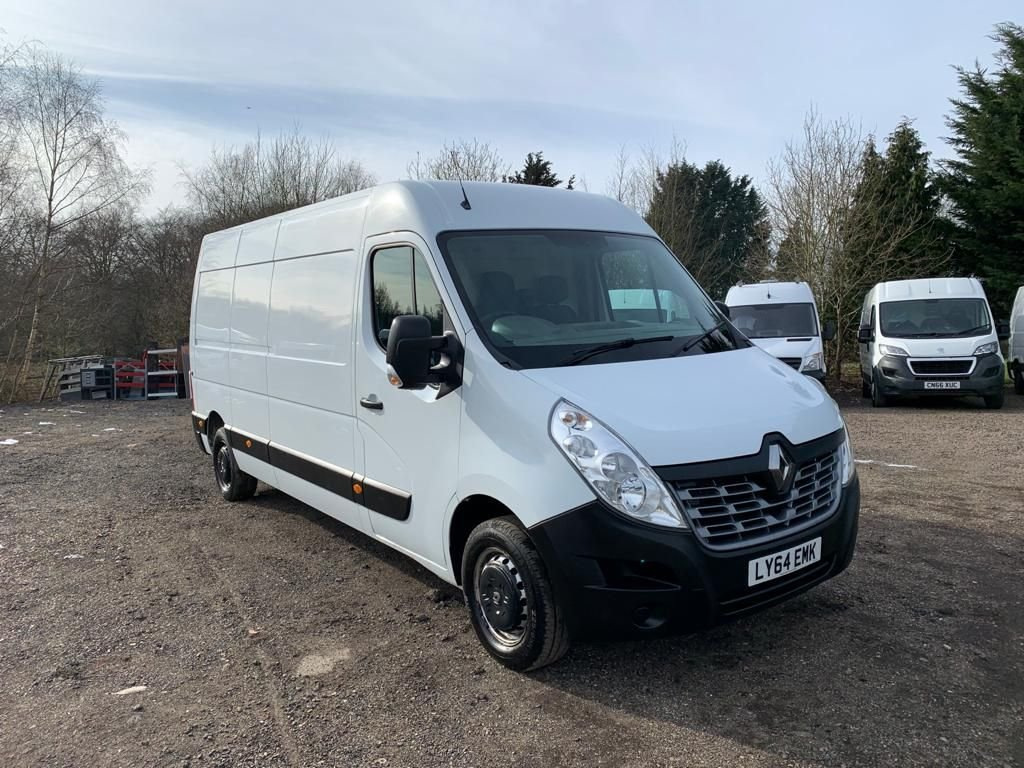 USED 2014 64 RENAULT MASTER 2.3 LM35 BUSINESS ENERGY DCI S/R P/V 135 BHP LWB