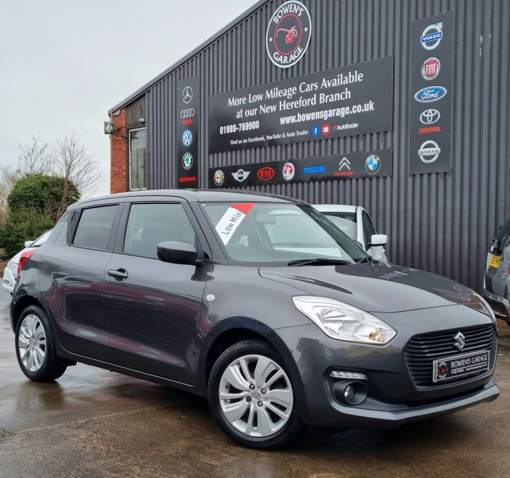 USED 2017 67 SUZUKI SWIFT 1.0 SZ-T BOOSTERJET 5D 111 BHP Demo + 1 Lady Owner - Low Mileage - Full S/History