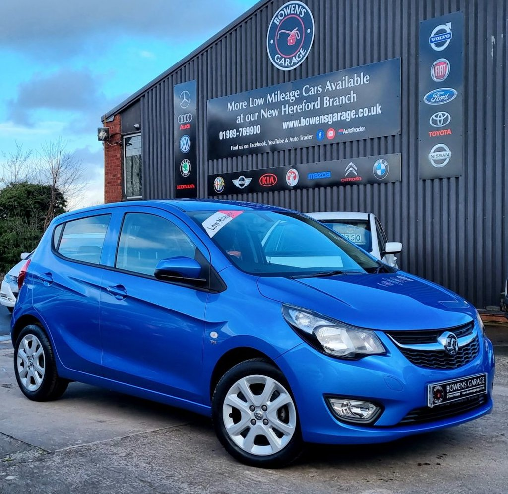 USED 2017 67 VAUXHALL VIVA 1.0 SE 5d 74 BHP Great Value, Low Mileage, Demo + 1 Lady owner with Full Service History
