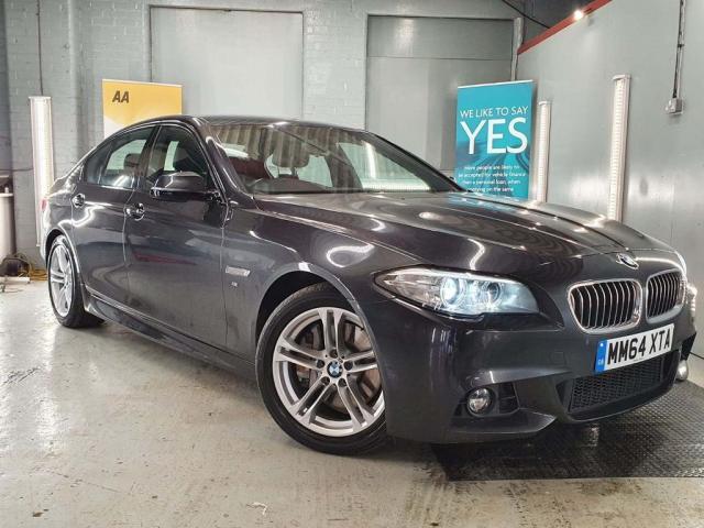 2015 64 BMW 5 SERIES 3.0 530D M SPORT 4d 255 BHP