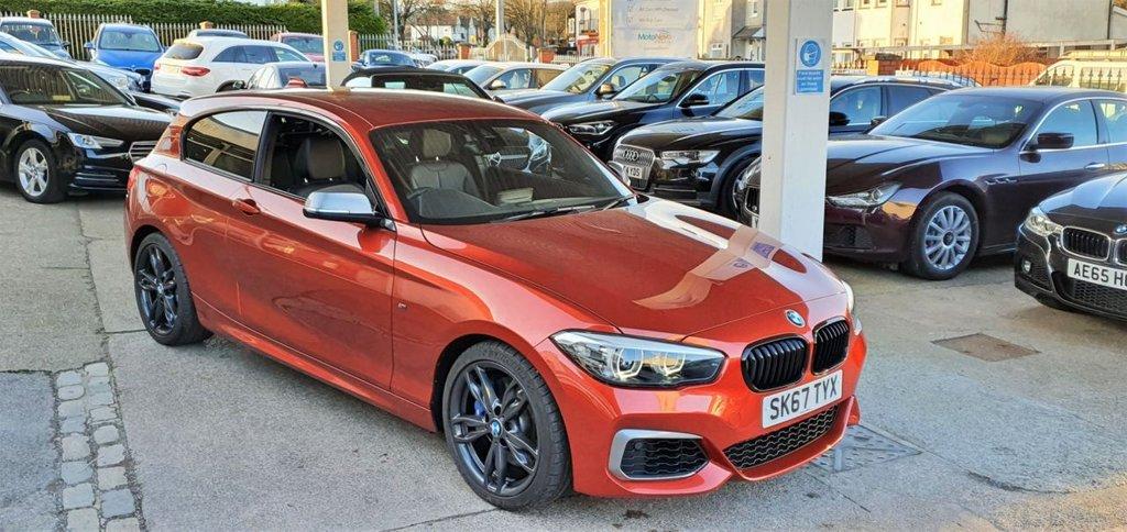 USED 2017 67 BMW 1 SERIES 3.0 M140I SHADOW EDITION 3d 335 BHP