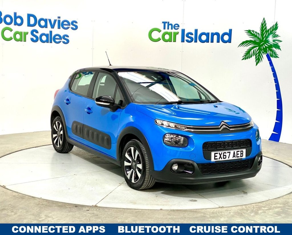 USED 2018 67 CITROEN C3 1.2 PURETECH FEEL 5d 81 BHP Apple Car Play DAB Park Sensors Alloys only 14000 miles