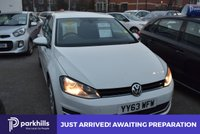 USED 2013 63 VOLKSWAGEN GOLF 1.4 SE TSI BLUEMOTION TECHNOLOGY 5d 120 BHP (ONW OWNER AND FULL HISTORY)
