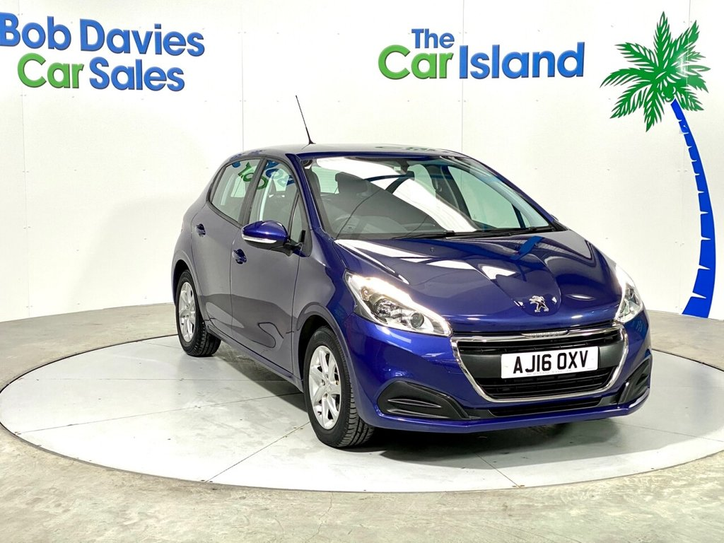 USED 2016 16 PEUGEOT 208 1.0 ACTIVE 5d 68 BHP CarPlay Mirror Link DABRadio Bluetooth only 21000 miles