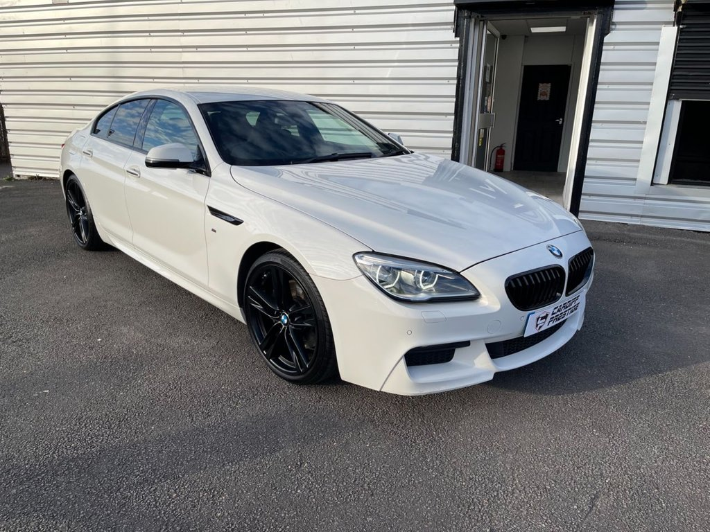 USED 2015 15 BMW 6 SERIES 3.0 640D M SPORT GRAN COUPE 4d 309 BHP PLEASE WATCH OUR 4K VIDEO
