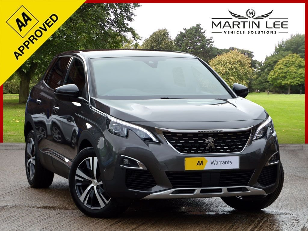 USED 2017 17 PEUGEOT 3008 1.6 BLUEHDI S/S GT LINE 5d 120 BHP LUXURY FAMILY SUV PACKED WITH HIGH SPECIFICATION