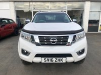 USED 2016 16 NISSAN NP300 NAVARA 2.3 DCI TEKNA 4X4 4dr 5 Seat Double Cab Pickup Manual Stunning in White Massive High Spec inc Side Steps Roof Rails. Recent Service & MOT with New Battery. Now Ready to Finance and Drive Away Today Stunning Nissan Navara with masses of spec!