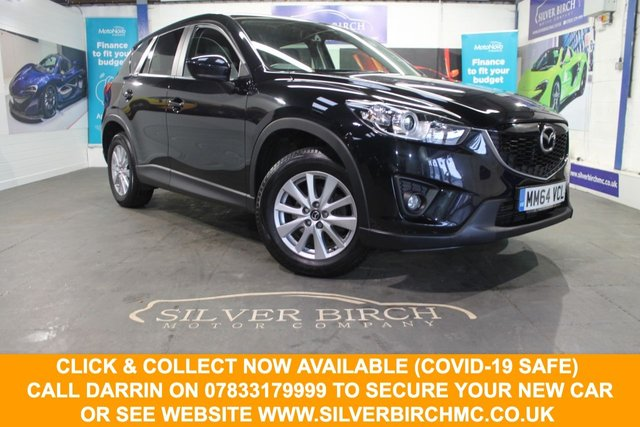 USED 2014 64 MAZDA CX-5 2.2 D SE-L LUX NAV 5d 148 BHP Sun Roof, Finance Available.