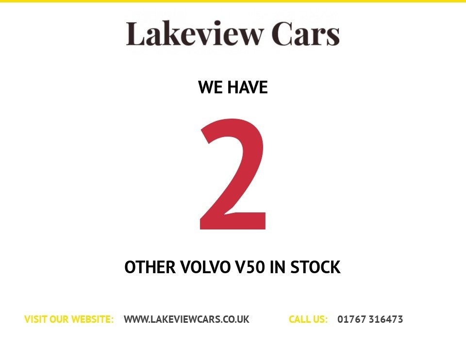 USED 2008 08 VOLVO V50 2.0 SE LUX D 5d 135 BHP