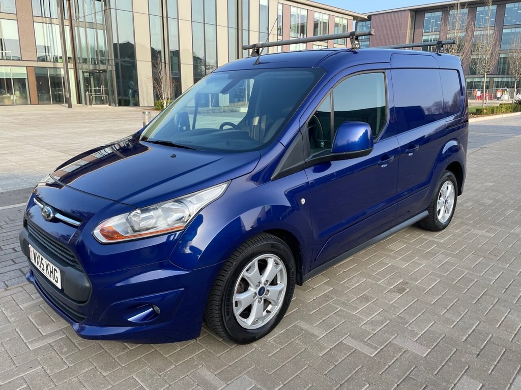 USED 2015 15 FORD TRANSIT CONNECT 200 LIMITED 1.6TDCI L1 115ps *AIRCON*REV/SENSORS*ROOF BARS* AIRCON-SENSORS-LIMITED-E/PACK