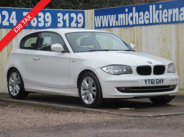 USED 2011 61 BMW 1 SERIES 2.0 118D SPORT 3d 141 BHP VERY CLEAN CAR