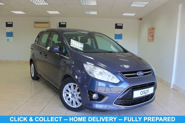 """USED 2011 11 FORD GRAND C-MAX 2.0 TITANIUM TDCI 5d 138 BHP SYRACUSE INTERIOR, CLIMATE CONTROL, 7 SEATER, BLUETOOTH, AUX PORT, CRUISE CONTROL, MULTI FUNCTION STEERING WHEEL, ELECTRIC FOLDING MIRRORS, 16"""" ALLOY WHEELS, FRONT & REAR PARKING SENSORS, USB, DAB"""