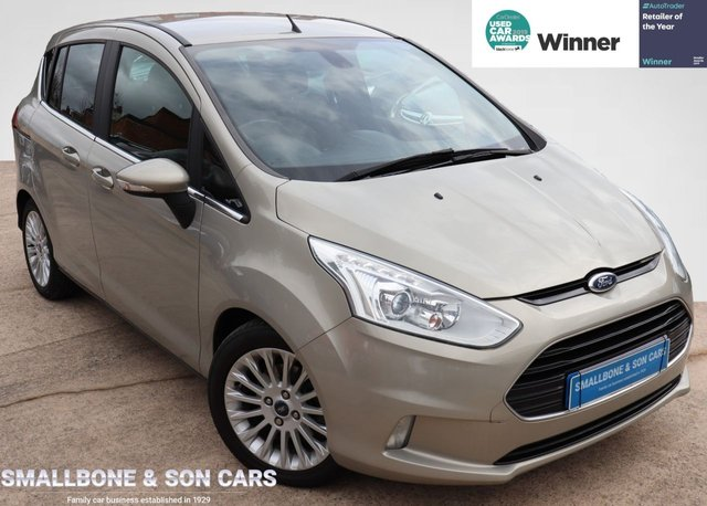 USED 2013 13 FORD B-MAX 1.6 TITANIUM TDCI 5d 96 BHP * BUY ONLINE * FREE NATIONWIDE DELIVERY *