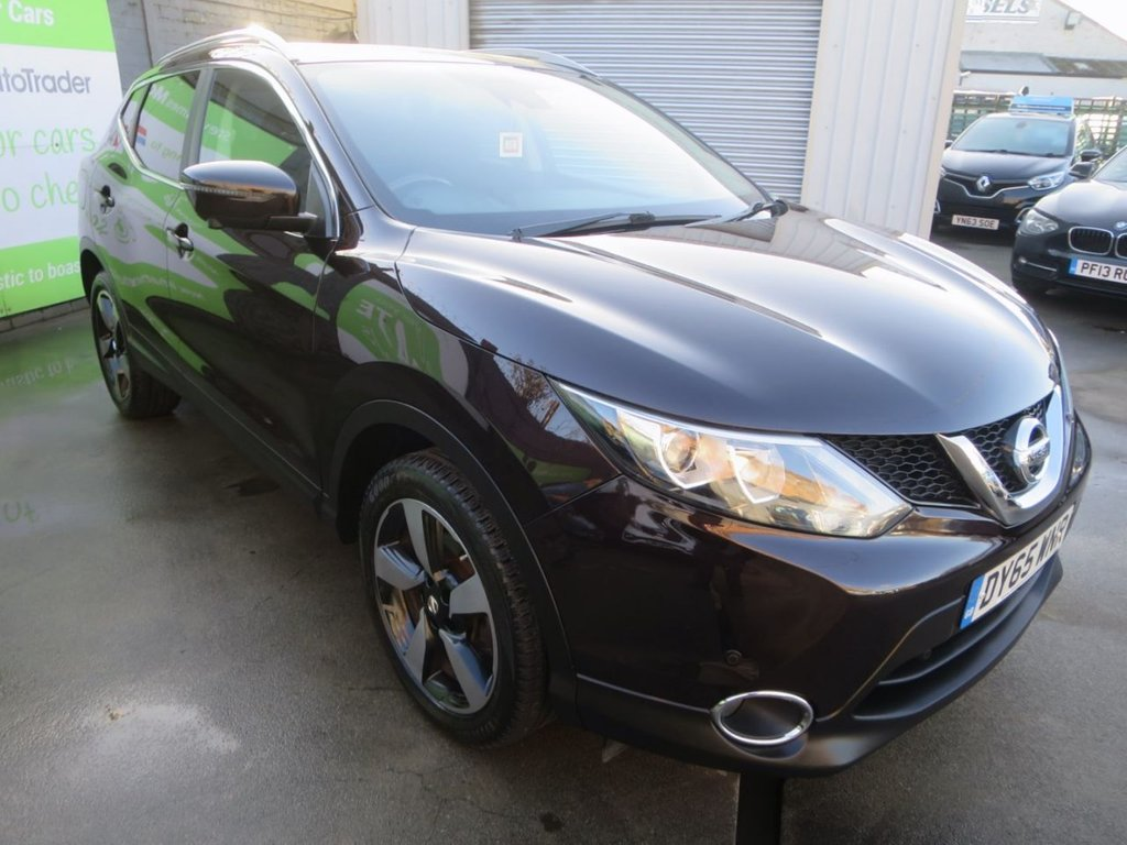 USED 2015 65 NISSAN QASHQAI 1.5 DCI N-TEC PLUS 5d 108 BHP * UK DELIVERY AND FINANCE AVAILABLE! *