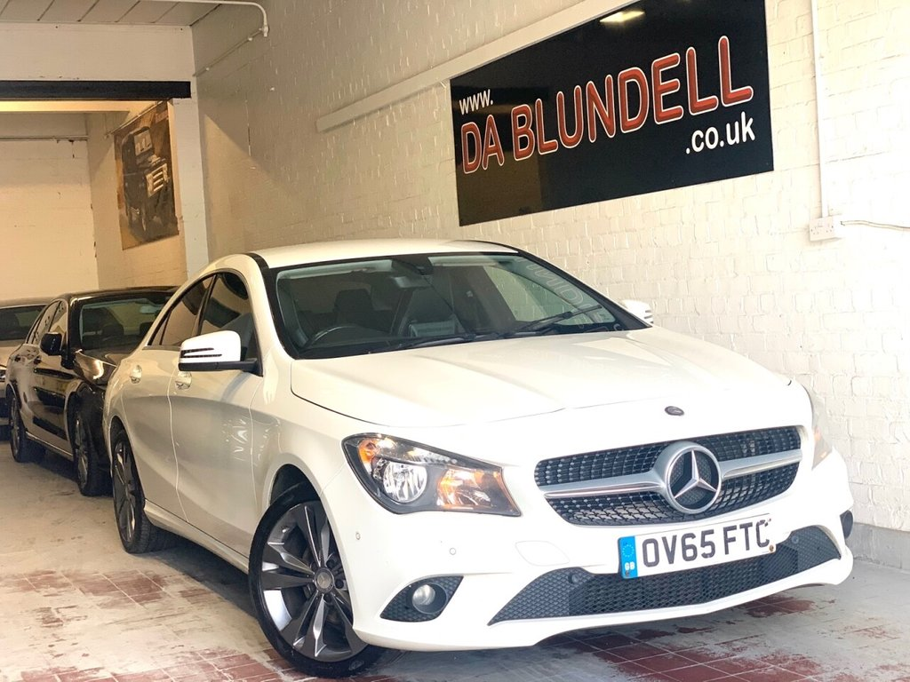 "USED 2015 65 MERCEDES-BENZ CLA 2.1 CLA 200 D SPORT 4d 134 BHP SAT NAV+PRIVACY GLASS+18""ALLOY"