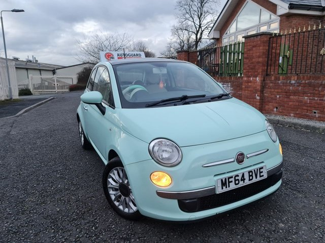 USED 2014 64 FIAT 500 0.9 TWINAIR LOUNGE 3d 85 BHP A GREAT FIRST CAR
